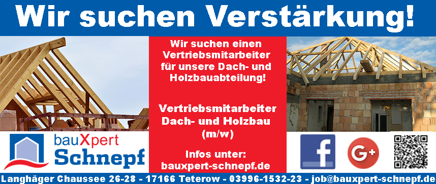 Stellenausschreibung_bauXpert_Schnepf